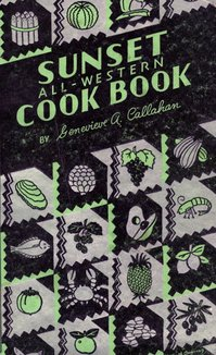 Sunset All-Western Cook Book, published in 1934