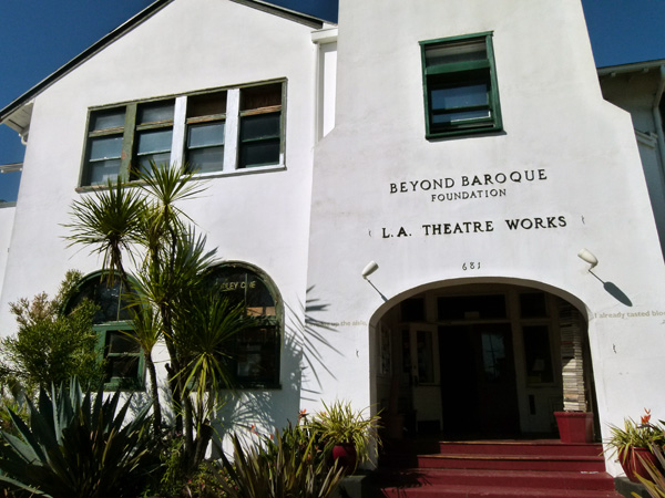 Beyond Baroque | Photo by Kelly Simpson/KCET Departures
