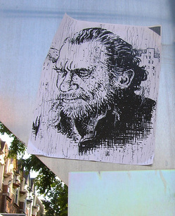 Bukowski on the streets | Photo by Yaldabaoth used under a Creative Commons license
