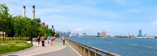 East River Park Esplanade