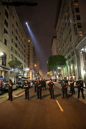 LAPD At Art Walk I Photo courtesy of Mitch Reiter