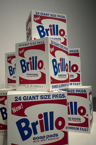 Warhol's Brillo Boxes | By ayngelina used under a Creative Commons license