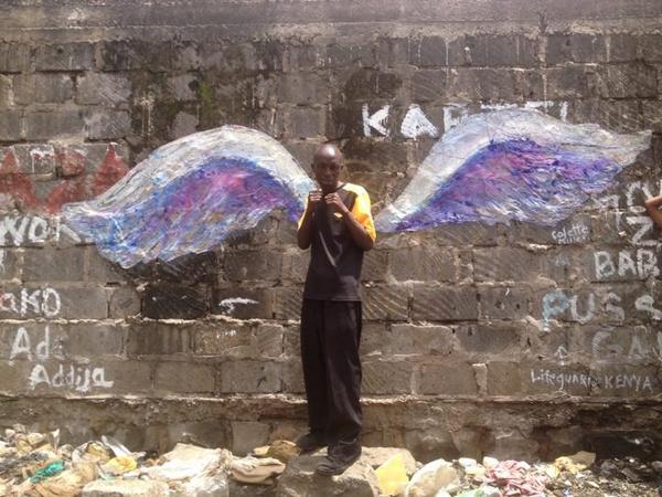 Member of Koyale Wings Miller in Kenya I MIller