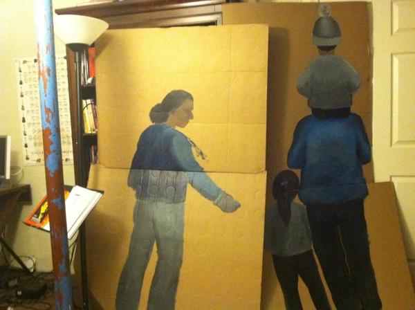 Family on progress I Photo courtesy Ramiro Gomez