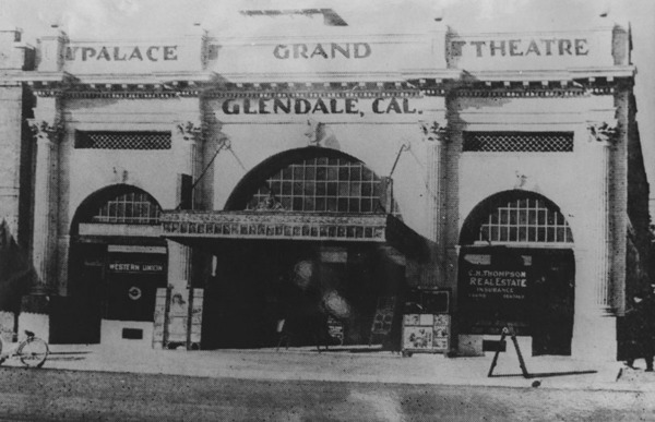 Palace Grand Theater in Glendale | Courtesy of the Los Angeles Public Library