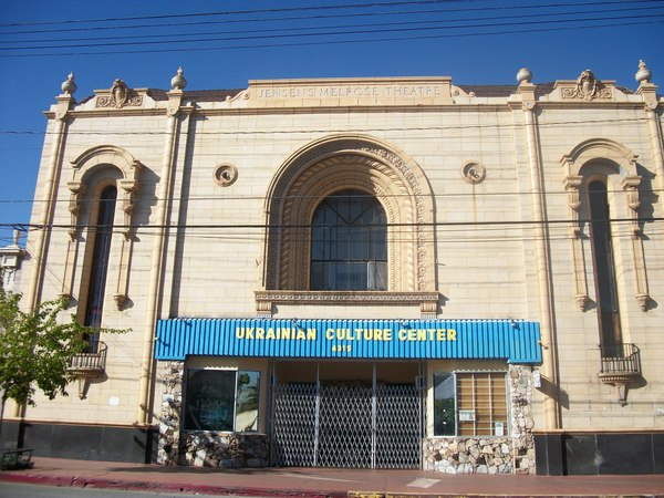 Jensen's Melrose Theater is now the Ukrainian Culture Center | Photo by Hadley Meares