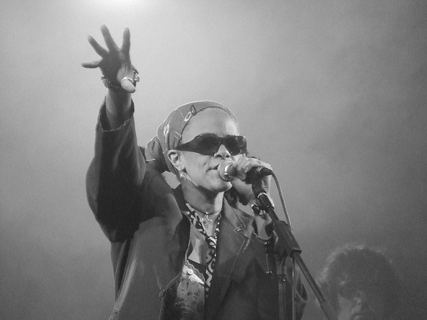 Ursula Rucker performing in the UK, 2006 | Photo by dexter_mixwith used under a Creative Commons license