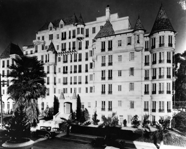 Chateau Elysee, 1929 | Ralph Morris Collection, Courtesy of the Los Angeles Public Library