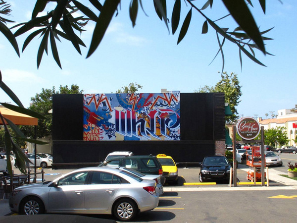 Tail Whip by Gajin Fujita I Photo: Murals of La Jolla