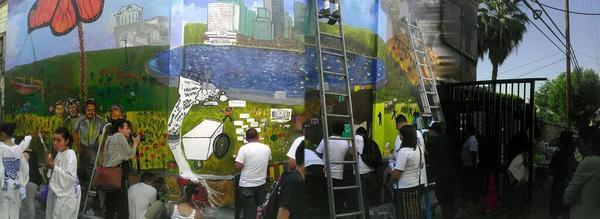 Justice Mural I Peoples Callejón de Colores