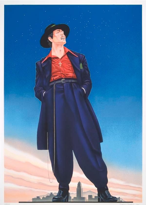 Zoot Suit © 1978, Ignacio Gomez I Smithsonian American Art Museum