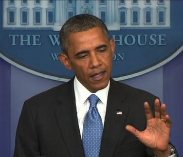 President Obama on Trayvon Martin