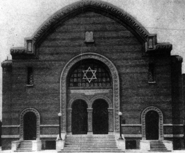 Talmud Torah Synagogue, located at 247 N. Breed Street in Boyle Heights | Photo courtesy of the Los Angeles Public Library