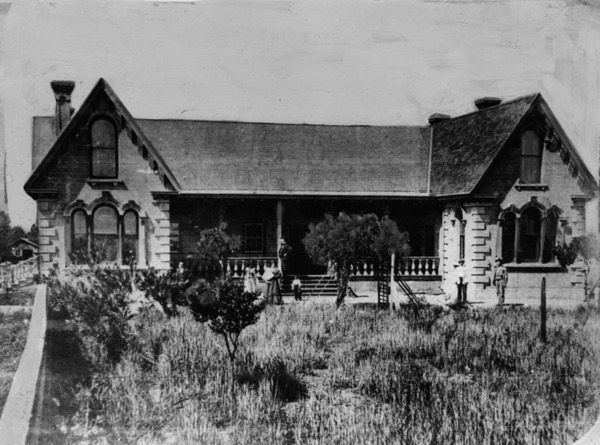 William Workman's residence, ca. 1875 | Herald-Examiner Collection courtesy of the Los Angeles Times