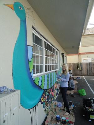 Kathryn 'Kat' Frazer, the Isla Vista mural instigator
