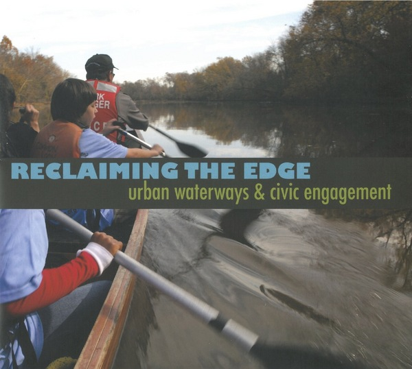 Learning to paddle a voyageur canoe on the Anacostia River<br /> Photograph by Keith Hyde, US Army Corps of Engineers, 2011<br /> Wilderness Inquiry, Minneapolis, Minnesota<br />