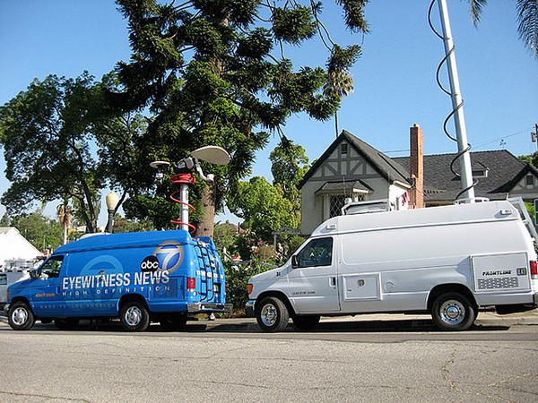 Media descends upon the Alhambra neighborhood where Phil Spector's ''castle'' stands | cgkinla/Flickr/Creative Commons