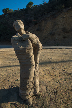 Navajo Chief ststue by Navajo sculptor Erma Yazzie