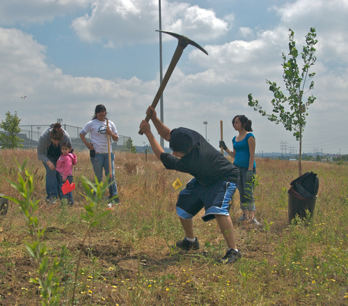 Anahuak Youth Sports Association at Rio de Los Angeles State Park : Photo: The City Project.