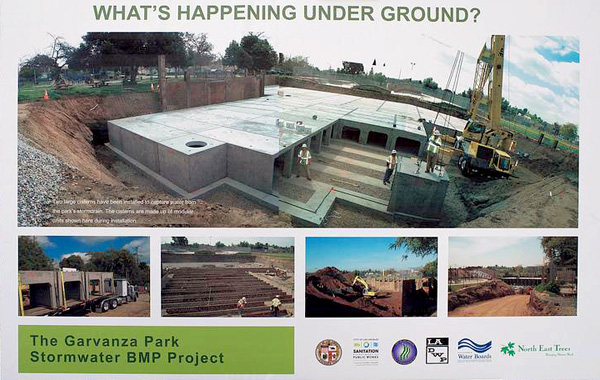 Garvanza Park Stormwater BMP Project in Highland Park | Photo courtesy of The City Project