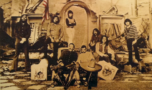 El Chicano with Emiliano Zapata & Pancho Villa on the cover of their album Revolución