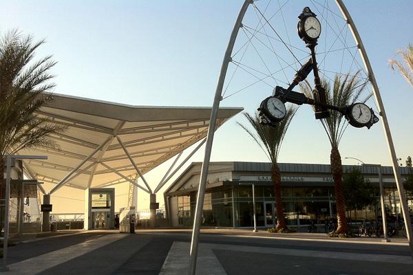 Entrance to El Monte Station