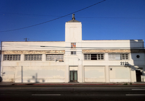 Former Capitol Records pressing plant on San Fernando Rd.