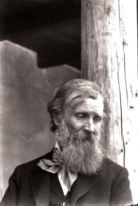 Renowned naturalist John Muir, the 'Father of the National Parks,' was a contributor to Lummis' magazines. 1905. | Photo by Charles Lummis courtesy of The Autry National Center