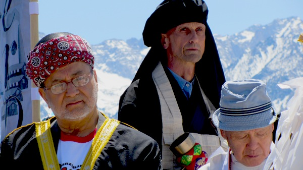 Religious leaders at the Pilgrimage Interfaith Service in 2011 | Photo: Zach Behrens/KCET