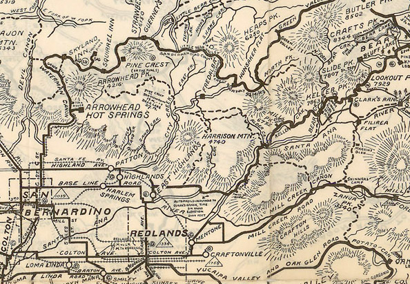 Map Detail | Courtesy of the Los Angeles Public Library