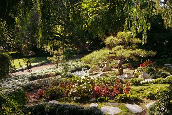 Meditation grounds at the SRF | Photo: Yosuke Kitazawa