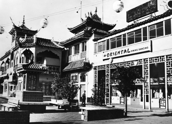 New Chinatown | Photo courtesy of the Los Angeles Public Library