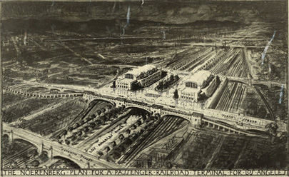CE Noerenberg, Los Angeles River Railroad Terminal | Courtesy UCLA Special Collections/A+D Museum