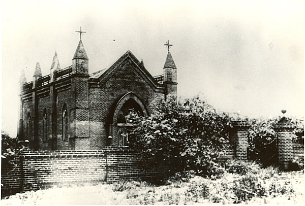 Chapel at the Workman Homestead, late 19th century | Courtesy of the Workman and Temple Family Homestead Museum