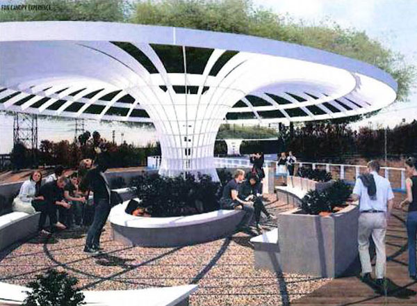 City of Glendale Narrows Riverwalk Project Bridge Design - Garden Bridge