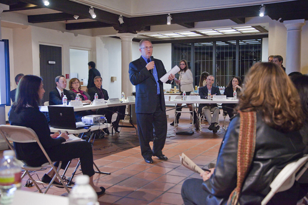 John Fenton, former CEO of Metrolink from January meeting at LA River Center | Photo by Grove Pashley