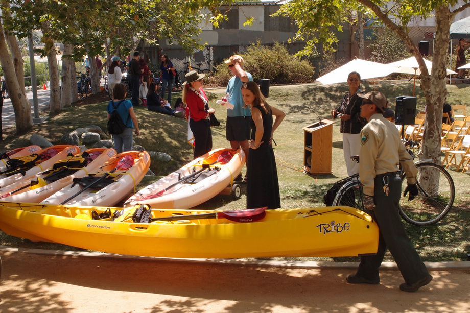 Individuals can bring their own kayak, or rent from several organizations who will be offering tours this summer