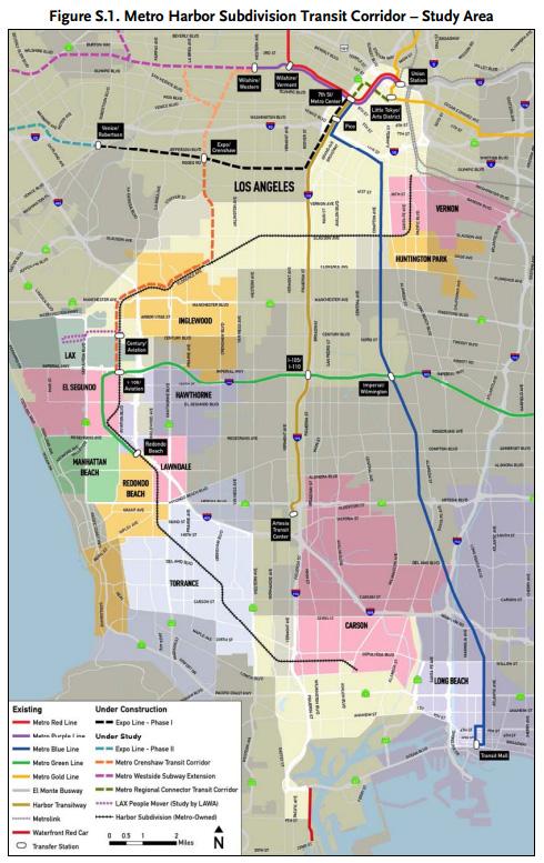 Harbor Subdivision Transit Corridor | Metro