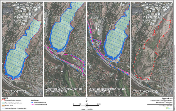 Alternatives for the Devil's Gate Reservoir Sediment Removal Project | Los Angeles Department of Public Works