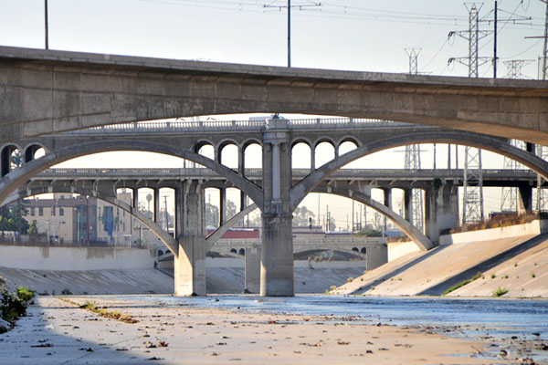 Bridges over the L.A. River | Photo: Justin Cram/KCET Departures