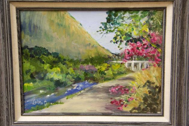 Lolita Chin's 'A View of Los Feliz Bridge'