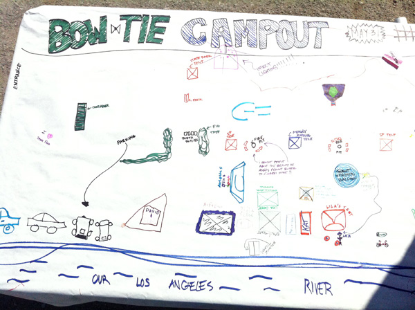 Memory maps of the Los Angeles River campout