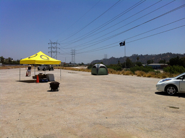 LA River campout site | Photo: Lila Higgins