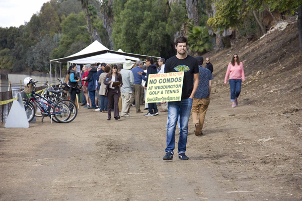 Josh Campbell helps increase awareness for Save LA Open Space