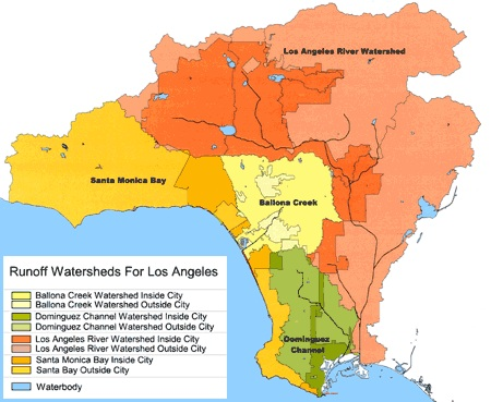 Map from www.lastormwater.org