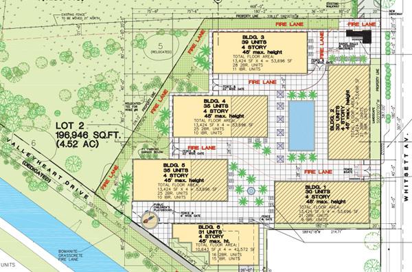 Plans for the senior living facility | Studio City Senior Living Center Project DEIR
