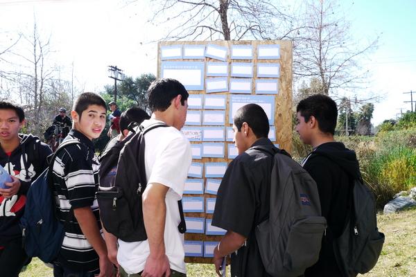 Kiosk at Marsh Park