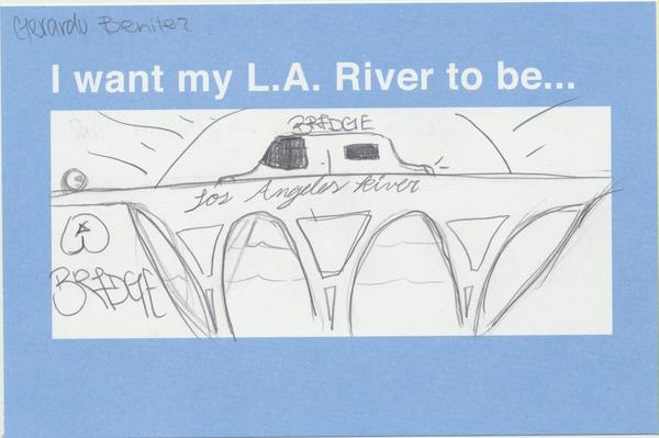 A drawing from a high school student in Glassell Park