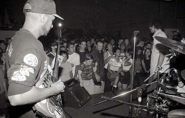 Tom Morello performs with Rage Against the Machine. Photo courtesy of Antonio Garcia.