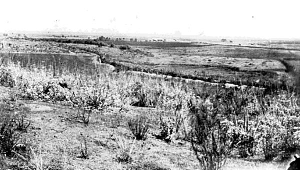 View from his home on ''Dalton Hill'' on Rancho Azusa de Dalton